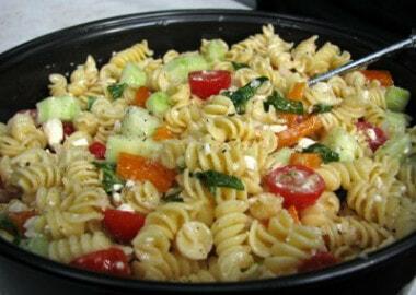 Camping Cuisine – Pasta Salad