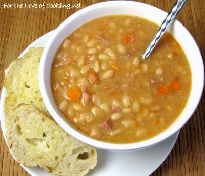 Quick White Bean and Ham Soup