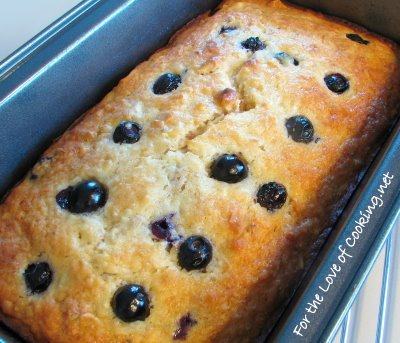 Banana, Blueberry, Coconut and Toasted Walnut Bread