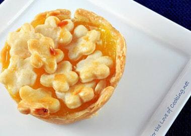 Mini Lemon Pies and Mini Cherry Pies