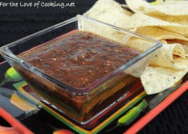 Charred Vegetable Salsa