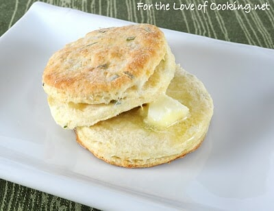 Flaky Buttermilk & Chive Biscuits