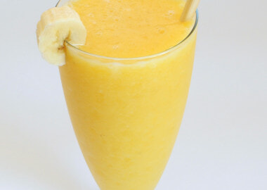Orange, Pineapple, and Banana Smoothie