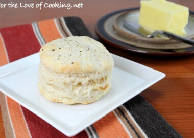 Roasted Garlic Flaky Biscuits