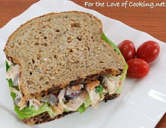Dill Chicken Salad Sandwiches