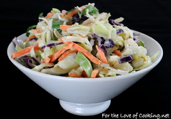 Light and Tangy Cole Slaw