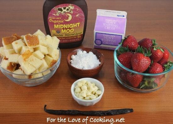 Strawberry & Chocolate Shortcake Parfait