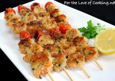 Mediterranean Grilled Shrimp Kebabs
