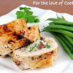 Ricotta, Mushroom, and Herb Stuffed Chicken Breasts