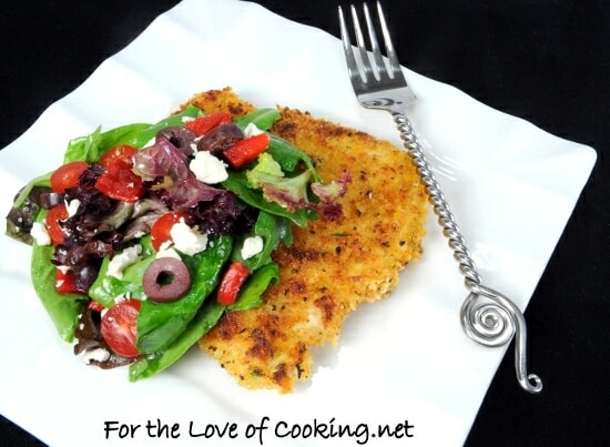 Greek Chicken Milanese