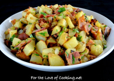 German Roasted Potato Salad