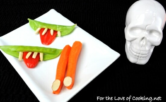 Halloween Fun ~ Creepy Smiles & Carrot Fingers