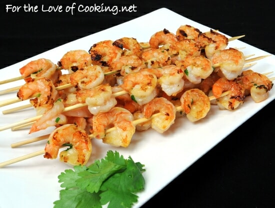Orange-Ginger Shrimp Skewers