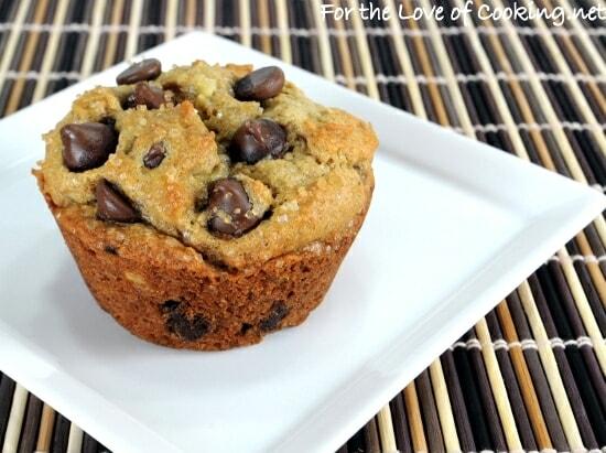 Banana Peanut Butter Chocolate Chip Muffins