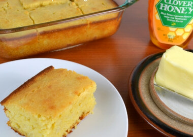 Sweet Honey Cornbread