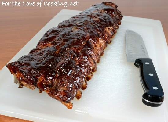 Baked Barbecue Ribs