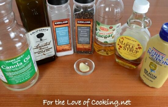 Maple-Mustard Vinaigrette