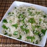 Coconut Cilantro Rice