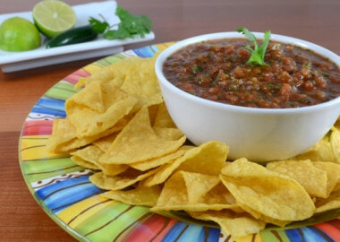 Simple Spicy Salsa