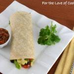 Huevos Rancheros Breakfast Burrito