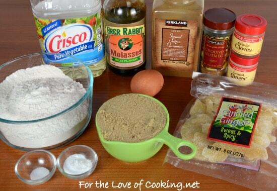 Ginger-Molasses Cookies