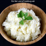 Creamy Garlic and Parmesan Mashed Potatoes
