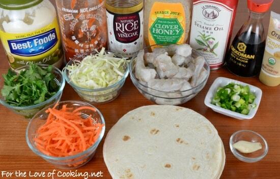 Asian Shrimp Tacos