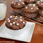 Raspberry Hot Chocolate Cupcakes