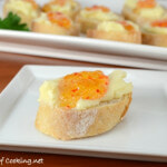 Brie and Mango Pepper Jelly Crostini