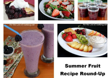 Summer Fruit – Recipe Round-Up