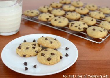 Mini Chocolate Chip and Coconut Cookies