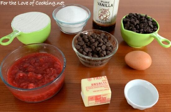 Strawberry-Filled Brownie Bites