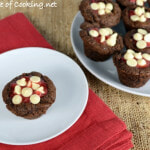 Strawberry-Filled Brownie Bites