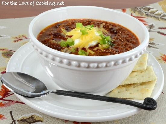 Beef and Bean Chipotle Chili