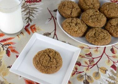 Soft Pumpkin Ginger Snap Cookies
