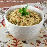 Garlicky Israeli Couscous