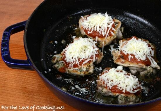 Herb Marinated Chicken Parmesan