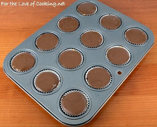 Homemade Mini Chocolate-Peanut Butter Cups
