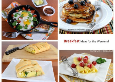 Breakfast Ideas for the Weekend