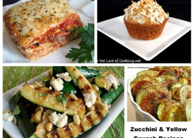 Zucchini and Yellow Squash – Recipe Round-Up
