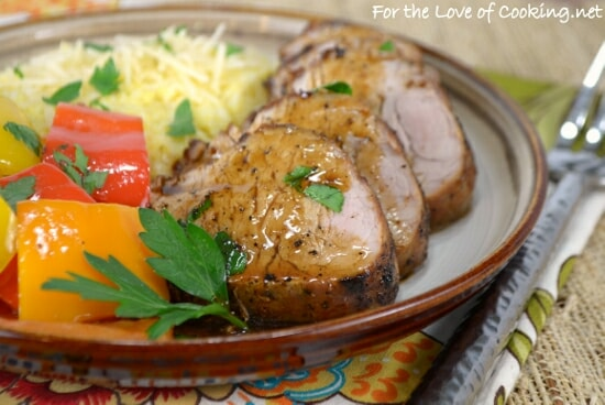 Pan Roasted Pork Tenderloin
