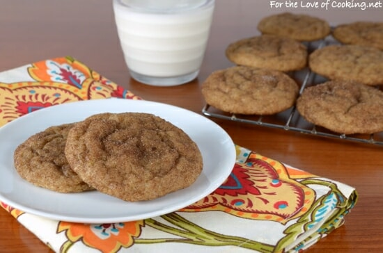 Soft Banana Snickerdoodles