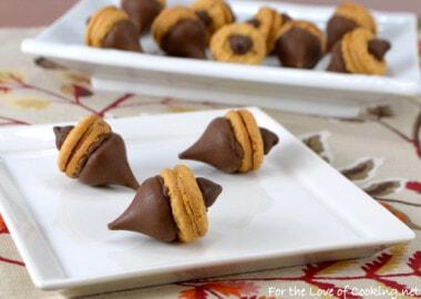 """""""Acorn"""" Chocolate Peanut Butter Treats"""