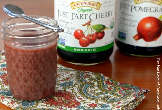 Tart Cherry & Pomegranate Curd