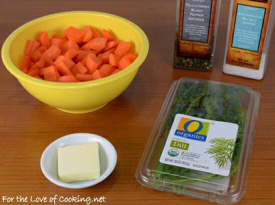 Buttery Carrot Sauté with Fresh Dill