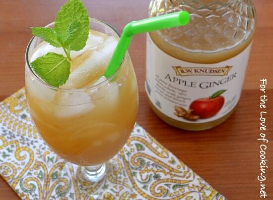 Apple-Ginger Sparkler