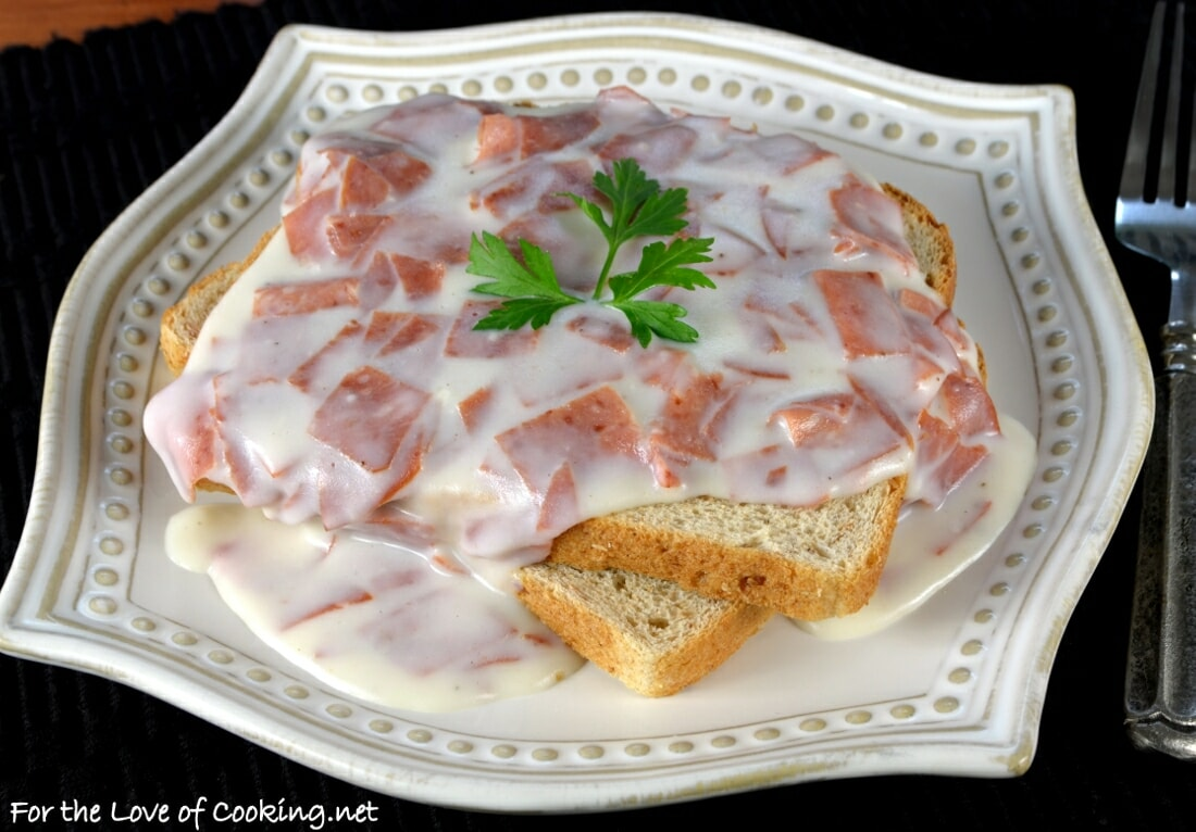Creamed Chipped Beef on Toast (S.O.S.)