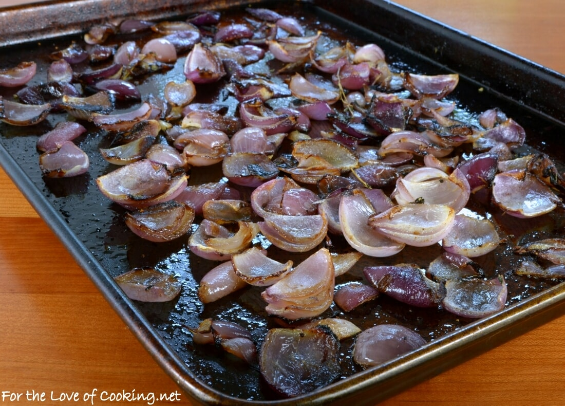 Roasted Red Onions