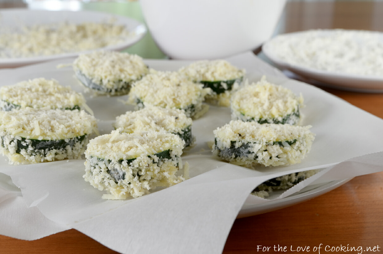Panko Crusted Zucchini with Lemon-Garlic Aioli