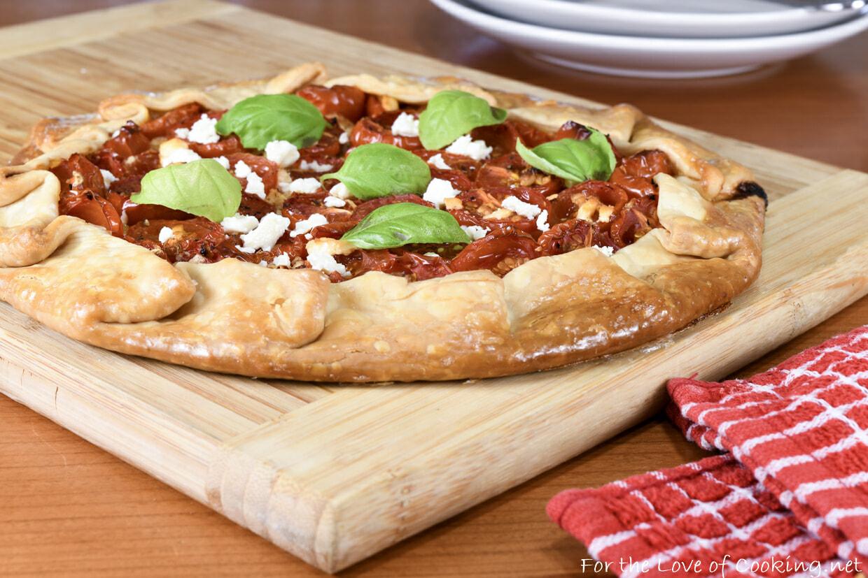 Tomato and Feta Galette